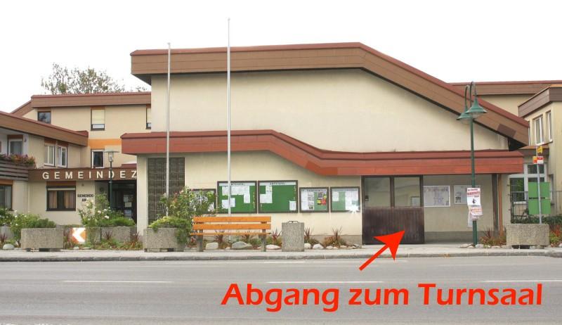 Turnsaal Theresienfeld